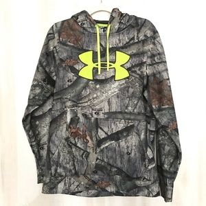 Under Armour Camouflage Hoodie Size Small